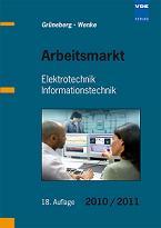 Arbeitsmarkt Elektrotechnik vom VDE kostenlos erhältlich