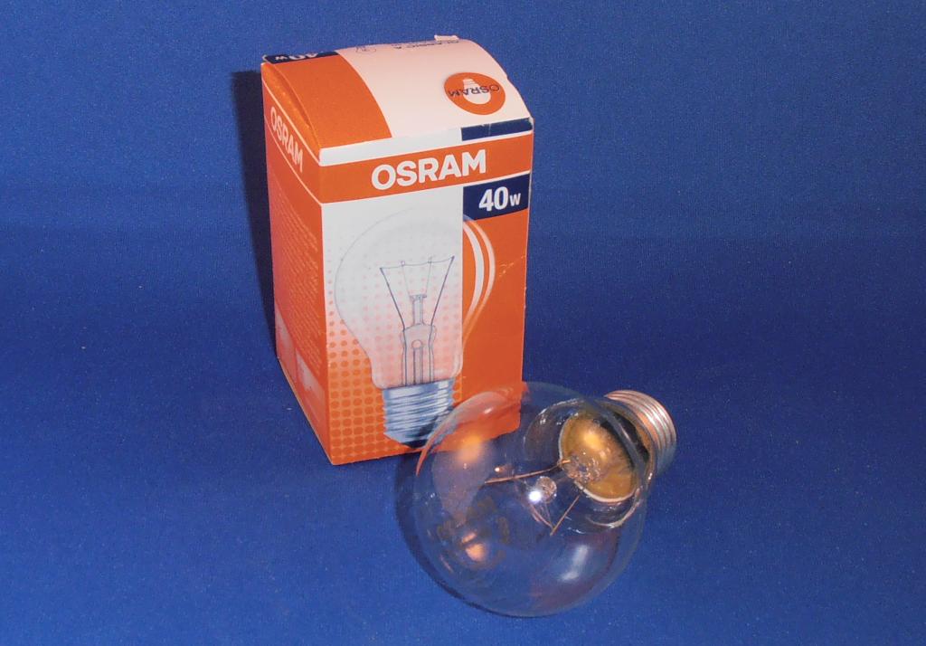 40 Watt Glühbirne
