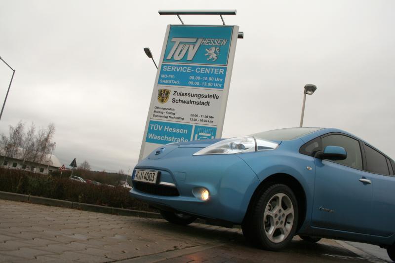 Nissan LEAF: Kfz-Steuern und Versicherung
