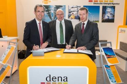 Unterzeichnung Kooperationsvereinbarung Power to Gas