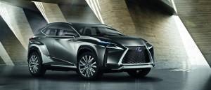 Lexus LG-NX IAA 2013