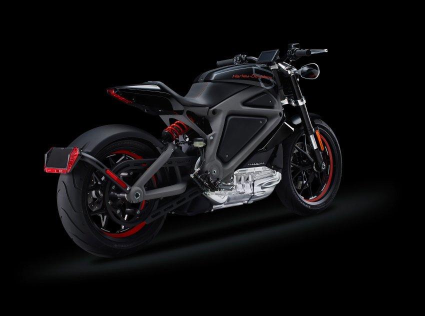 Harley-Davidson zeigt Elektromotorrad Project LiveWire