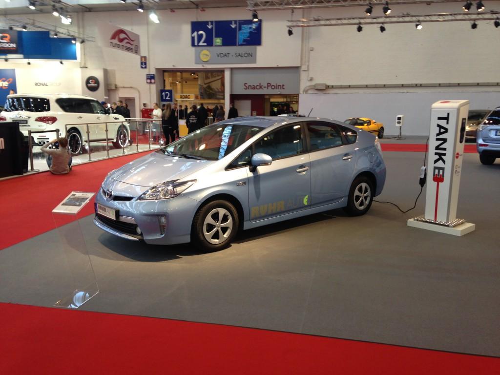 Elektromobilität - Essen Motor Show 2014