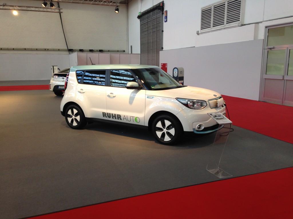 Elektromobilität Kia Soul EV - Essen Motor Show 2014