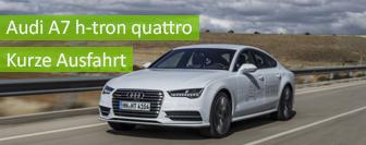 Audi A7 h-tron quattro - kurze Ausfahrt