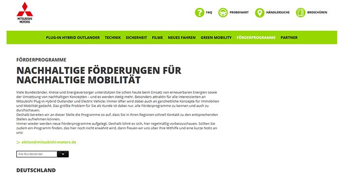 mitsubishi-foerderprogramme-deutschland