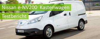 Nissan e-NV200 Kastenwagen im Test