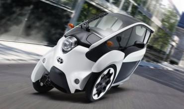 Toyota testet Car-Sharing mit i-ROAD in Japan