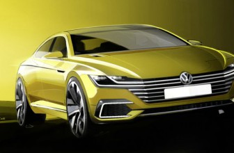 VW Sport Coupé Concept GTE als Plug-in-Hybrid in Genf