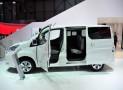 Nissan mit e-NV200 als Siebensitzer – Elektrotransporter in Genf