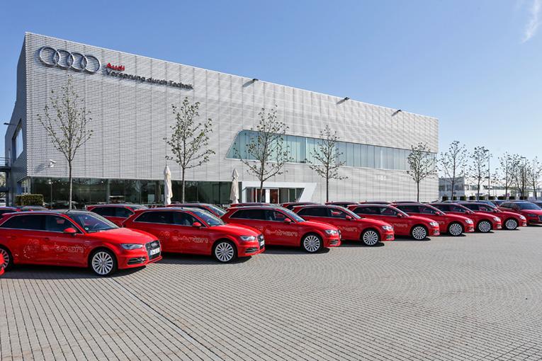 Mobilitaet der Zukunft selbst erfahren: Audi mit neuen Projekten beim ?Schaufenster Elektromobilitaet?