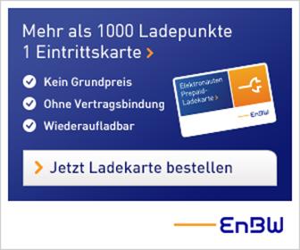 EnBW Elektronauten Prepaid-Ladekarte