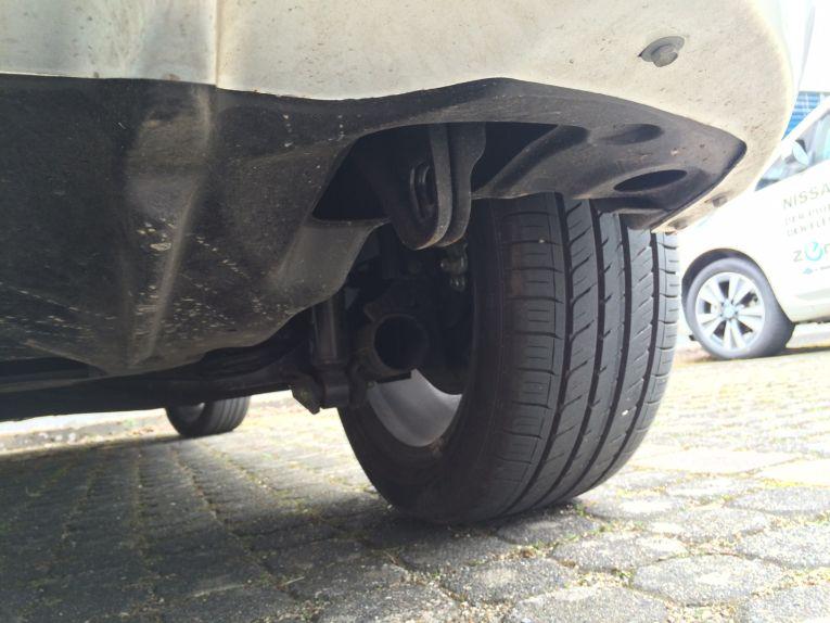 Elektroauto abschleppen - Vorrichtungen sind wie beim Verbrenner genügend vorhanden