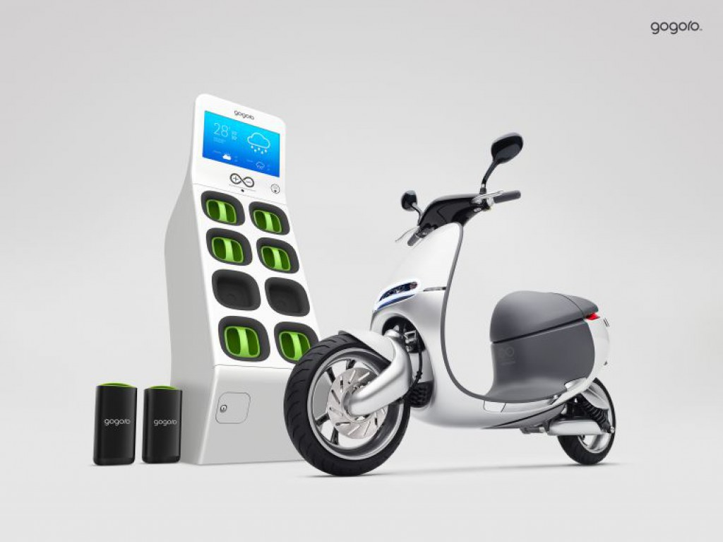 smartscooter gogoro in taipeh elektroroller mit akkutausch. Black Bedroom Furniture Sets. Home Design Ideas