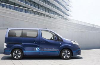 Nissan e-NV200 Evalia ab August mit 7 Sitzen