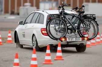 Transport von E-Bikes auf dem Fahrradträger