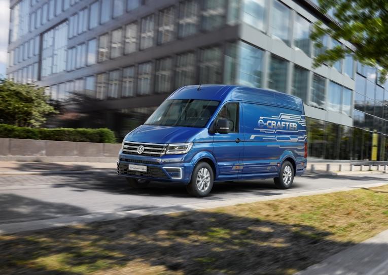 Der neue e-Crafter von Volkswagen Nutzfahrzeuge