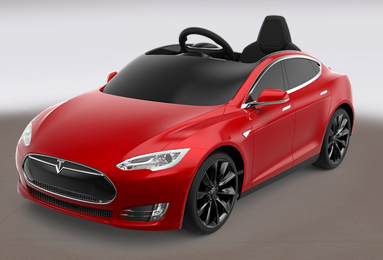 tesla model s f r kinder elektroauto f r den spielspa. Black Bedroom Furniture Sets. Home Design Ideas