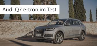 Audi Q7 e-tron quattro im Test