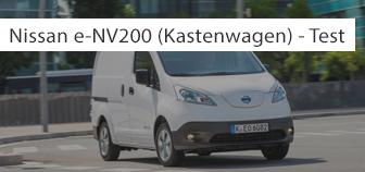 Nissan e-NV200 im Test