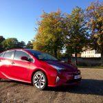 Toyota Prius Hybrid (2016) – kleine Ausfahrt in Paris