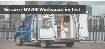 Nissan e-NV200 Workspace im Test