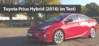 Toyota Prius - kurze Ausfahrt
