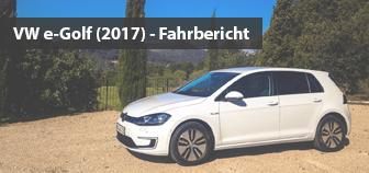 VW e-Golf (2017) - Fahrbericht