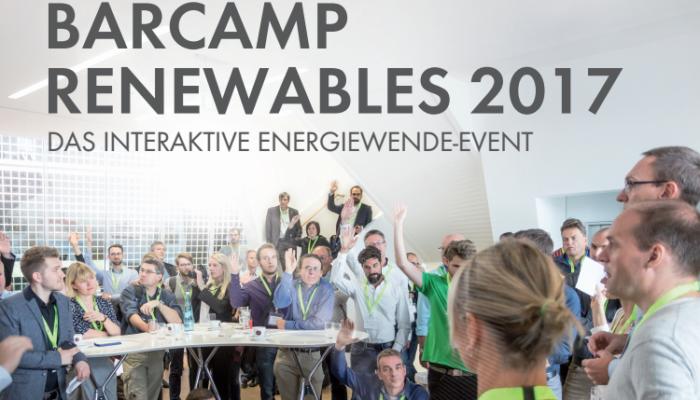 Barcamp Renewables geht in die 6. Runde – Details zum Barcamp