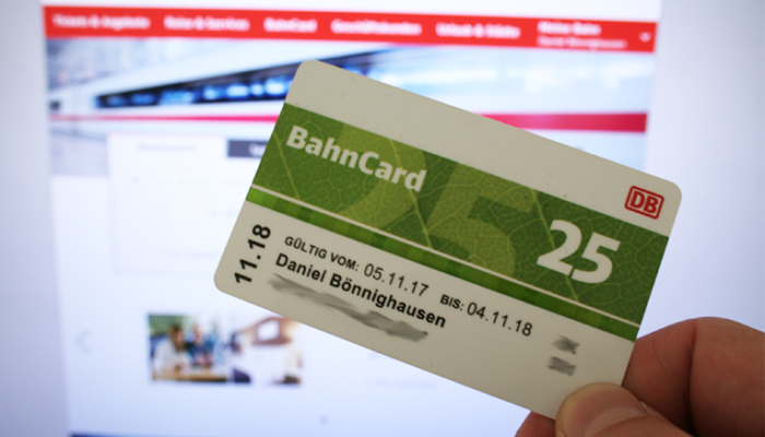 Warum ich mich für eine BahnCard entschied…